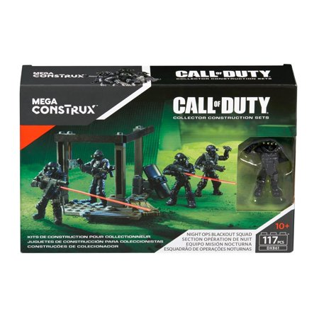 Mega Construx Call Of Duty Night Ops Blackout Squad