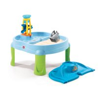 Step2 Sandbox Splash n' Scoop Bay Water Table With Cover And 5 Piece Accessory Set
