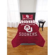 NCAA Oklahoma Sooners Affiliation Twin Xl Comforter Set, 1 Each