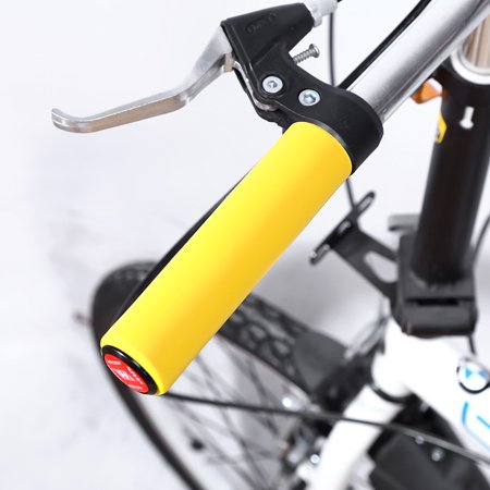 - Handlebar Grip,HURRISE 1 Pair Super Light Handlebar Grip Anti-skid Shock Proof Silica Gel Grip With End Plugs For Bike