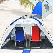Deluxe Instant Popup Beach Tent Shelter Cabana Upf 100