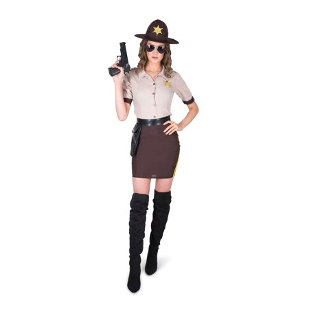 Women's Sultry Sheriff Costume (Sheriff Woman Costume)