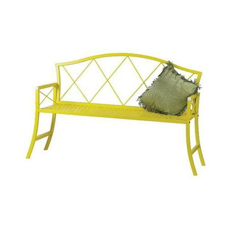 Austram Griffith Creek Designs 56 in. Metal Patio Bench