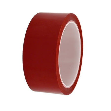 40mm Width 164ft Length Single-side Electrical Insulated Adhesive Tape Red - image 2 de 2