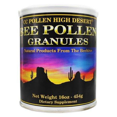 CC Pollen High Desert  Bee Pollen Granules, 16 oz