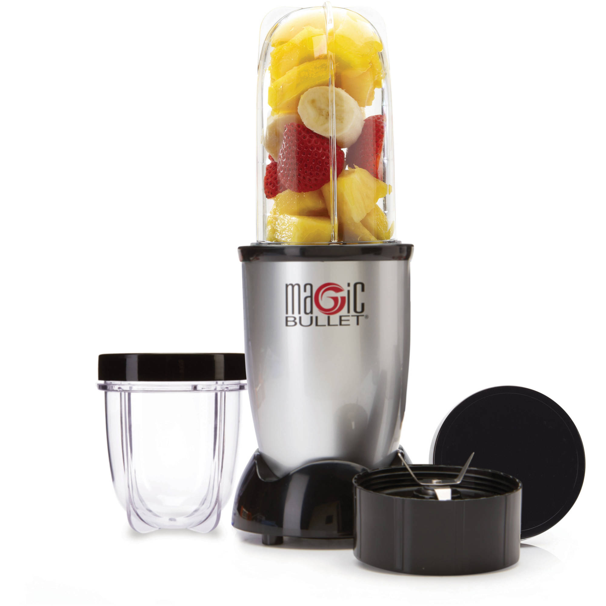 Magic Bullet, 7-Piece, Silver - Walmart.com