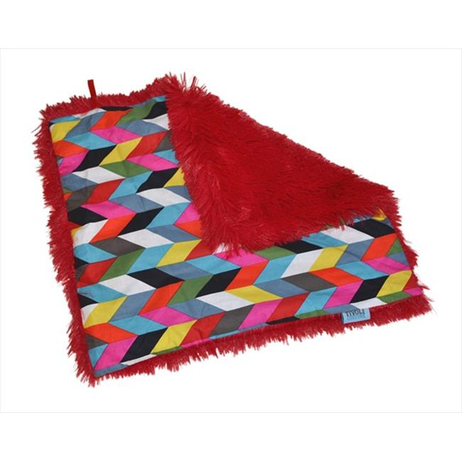 Tivoli Couture SLB 1094 Shag-e Lovie - Security Blanket, Kaleidoscope