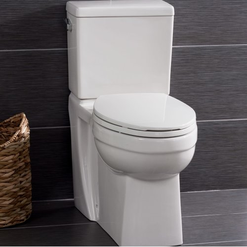 Miseno High Efficiency ADA Height 1.28 GPF Elongated Two-Piece Toilet