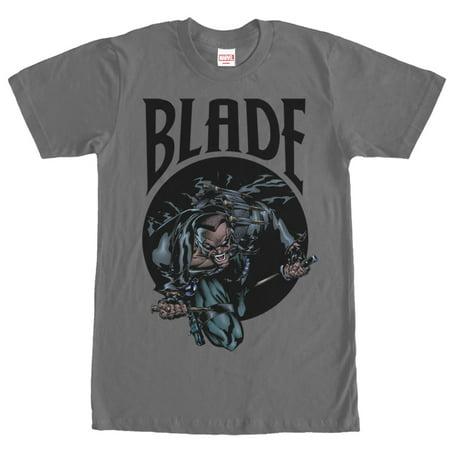 Marvel Men's Blade Vampire Hunter T-Shirt (Vampire Hunter Outfit)