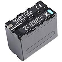 NP F970 Rechargeable Camera Battery Replacement Li ion Battery for Sony NP F960 NP F950 NP F930 DCM M1 MVC CD1 ()