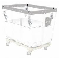 ZORO SELECT G06-WWX-SLN Basket Truck Spring Lift Kit,6 Bu,White