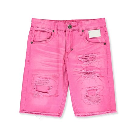 Button Fly Shorts (Born Fly Boys' Denim Shorts )