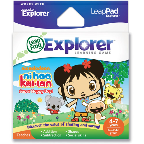LeapFrog Explorer & LeapPad Learning Game: Ni Hao, Kai-lan: Super Happy Day!
