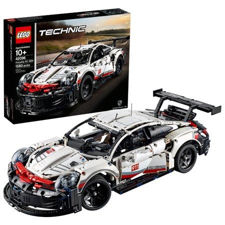 LEGO Technic Porsche 911 RSR 42096 Building Set (1,580 (Porsche 911 Turbo Gt3 Rs For Sale)