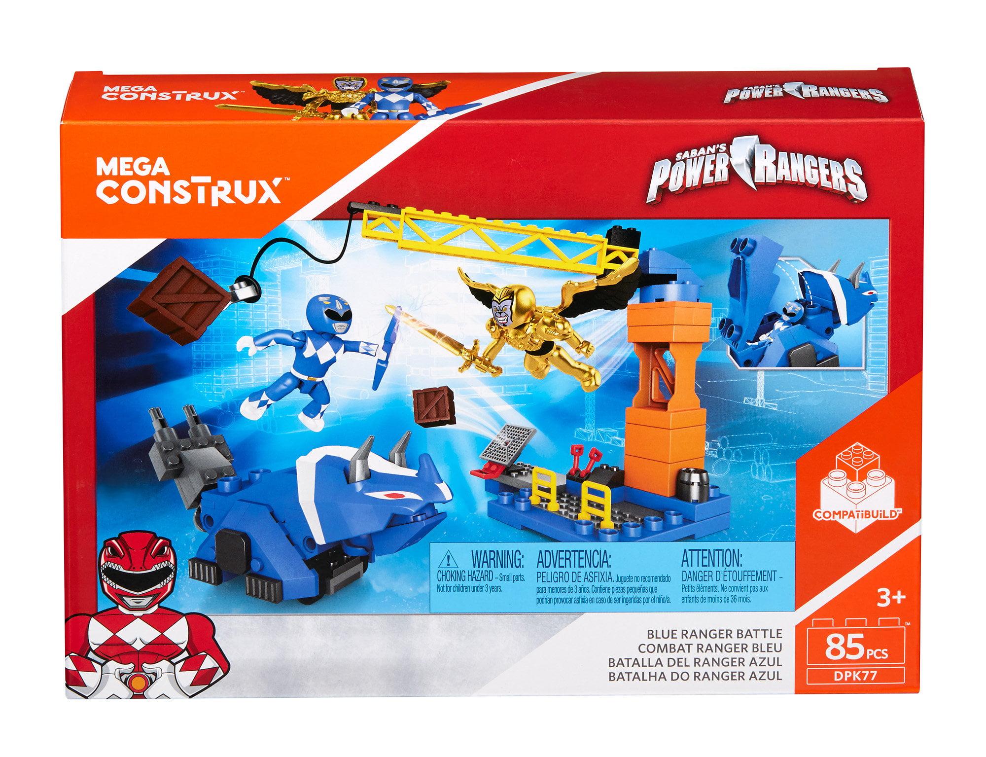 Mega Construx Power Rangers Blue Ranger Battle by Mega Brands, Inc.