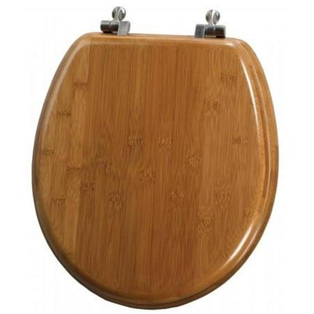 Mayfair Bemis Bamboo Round Toilet Seat 9401ni 568