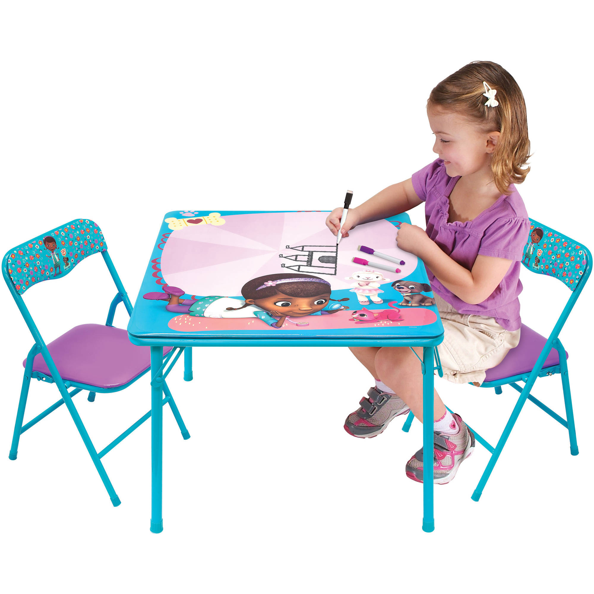 Doc Mcstuffins Table And Chair Set Amp Disney Jr Doc