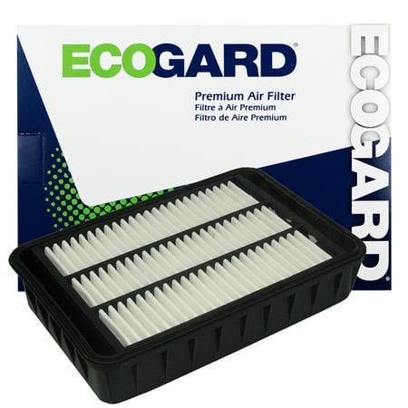 Mitsubishi Green Air Filter (ECOGARD XA5789 Premium Engine Air Filter Fits Mitsubishi Lancer, Outlander, Outlander Sport,)