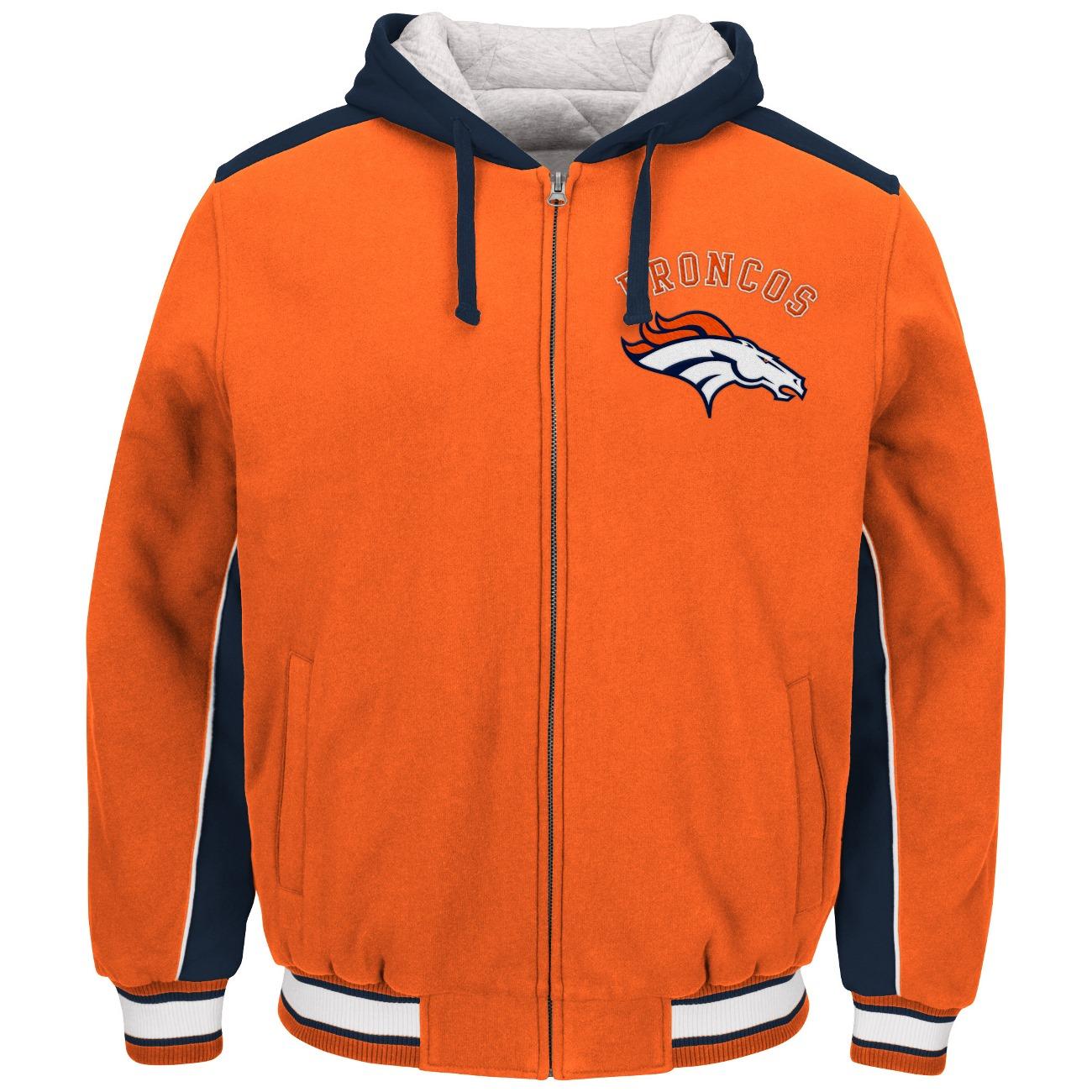 "Denver Broncos NFL G-III ""Prime"" Full Zip Hooded Premium Men's Jacket by G-III Sports"