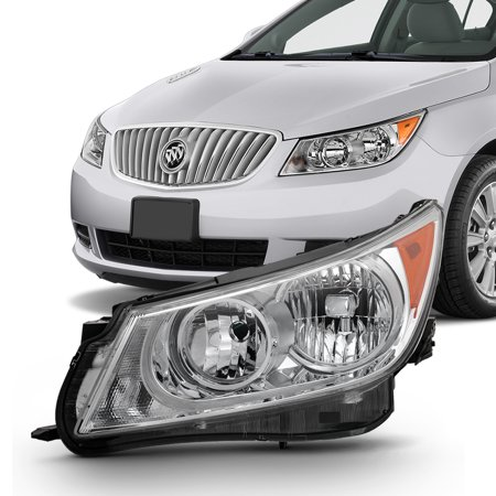 Fit 2010 2011 2012 2013 Buick LaCrosse Driver Side Halogen Headlight (2012 Buick Lacrosse Review Car And Driver)