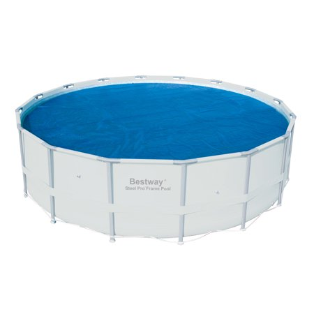Bestway 15-Foot Round Above Ground Swimming Pool Solar Heat Cover | (Swimming Pool Solar Heat)