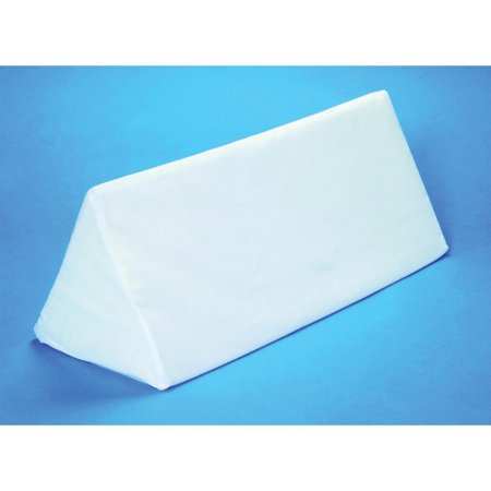 Image of Hermell Products Multi-use Body Aligner Wedge Cushion, White, Ergonomic design By Hermell Products Inc