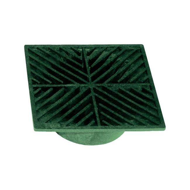 7 5 in. Green Heavy Duty Drain Grate