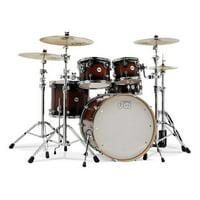 DW Design Series Drum Set 22/10/12/16/14 - Tobacco Burst