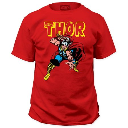 Thor Casual Shirt (Thor - War Hammer Apparel T-Shirt - Red)