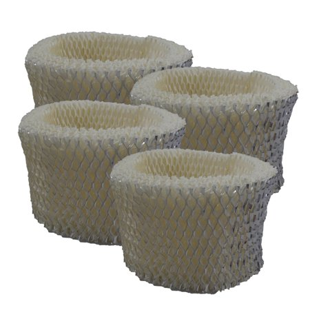 4 PACK Holmes HWF62, HWF62D, HWF-62, H62, H-62 Humidifier Filter Replacements...