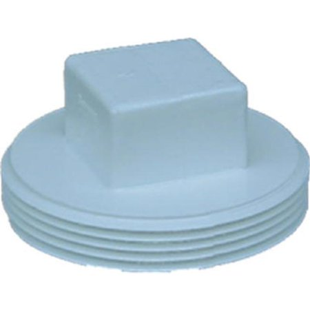 Styrene Plug (41840 4 in. Male Pipe Thread Styrene)