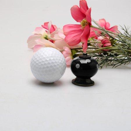 Ceramic Knob Pull Handle Dresser Cupboard Wardrobe Cabinet Accessories Black - image 4 de 7
