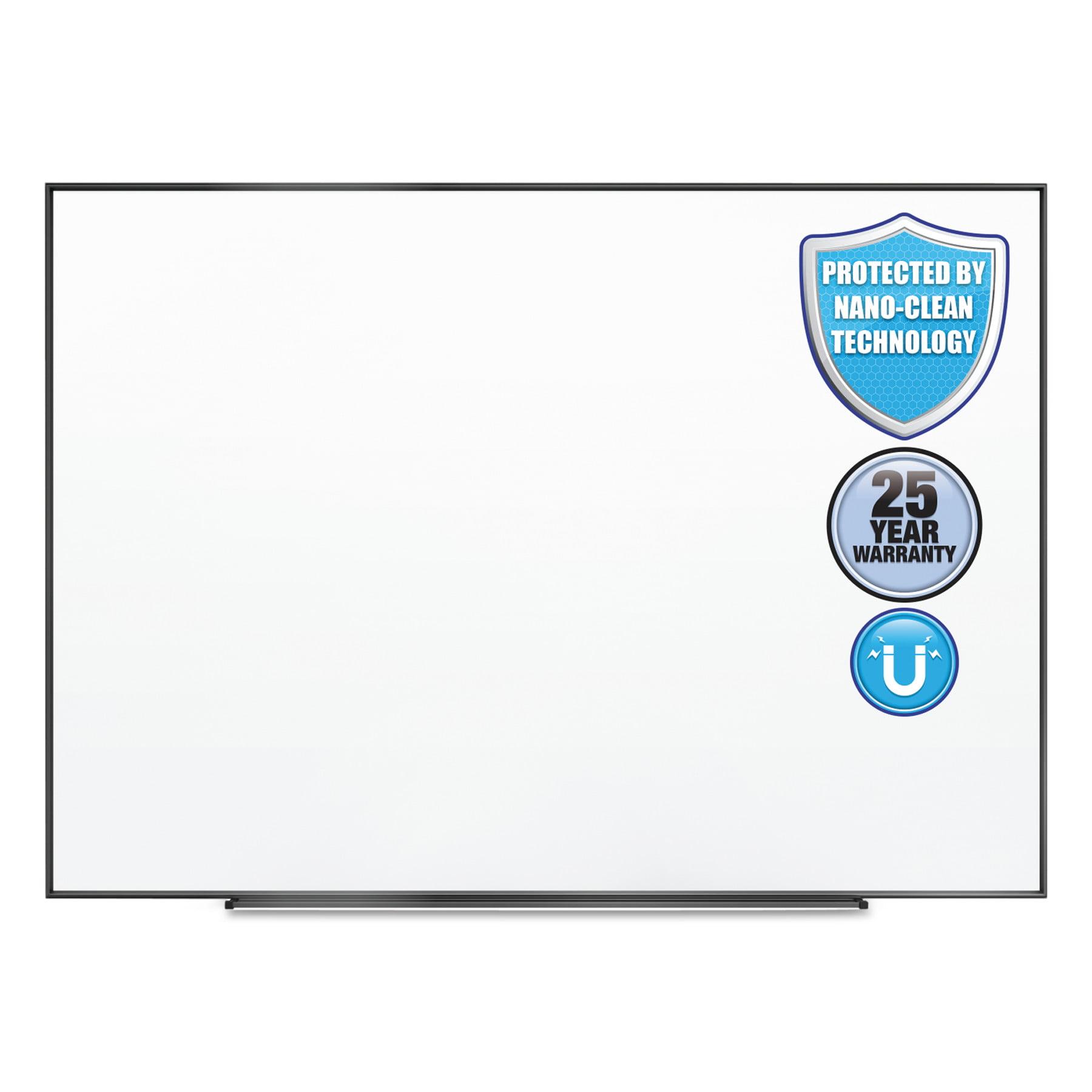 Quartet Fusion Nano-Clean Magnetic Whiteboard, 96 x 48, Black Frame by QUARTET MFG.