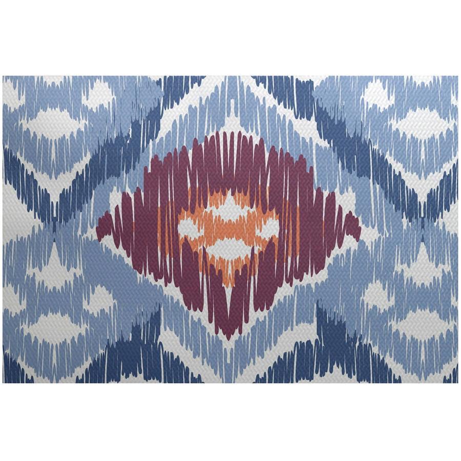 Simply Daisy 3' x 5' Original Geometric Print Indoor Rug