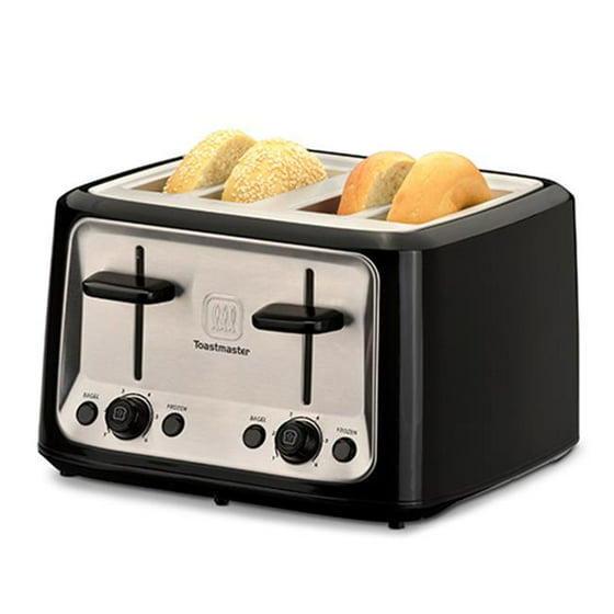 Toastmaster TM 46TS 4 Slice Cool Touch Toaster Walmart
