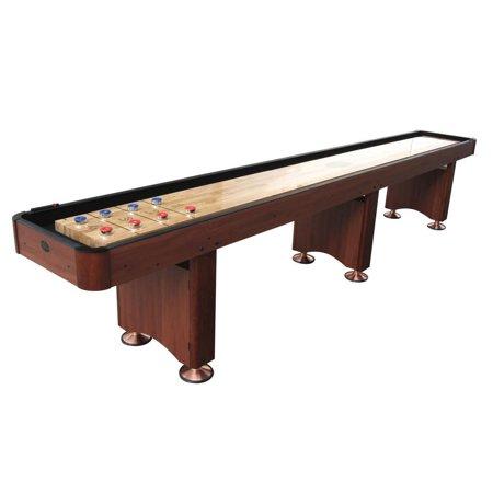 Playcraft Woodbridge Cherry 14' Shuffleboard Table