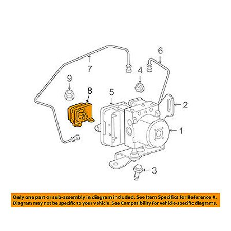 CHRYSLER OEM ABS Anti-Lock Brake System-Control Module