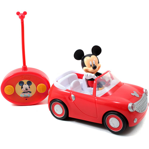 Jada Toys Disney Mickey Mouse Radio Control Roadster