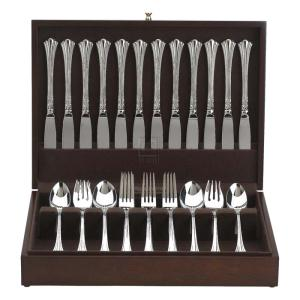 FLAT FLATWARE CHEST, MAHOGANY/BROWN, PROMOTIONAL COLLECTION