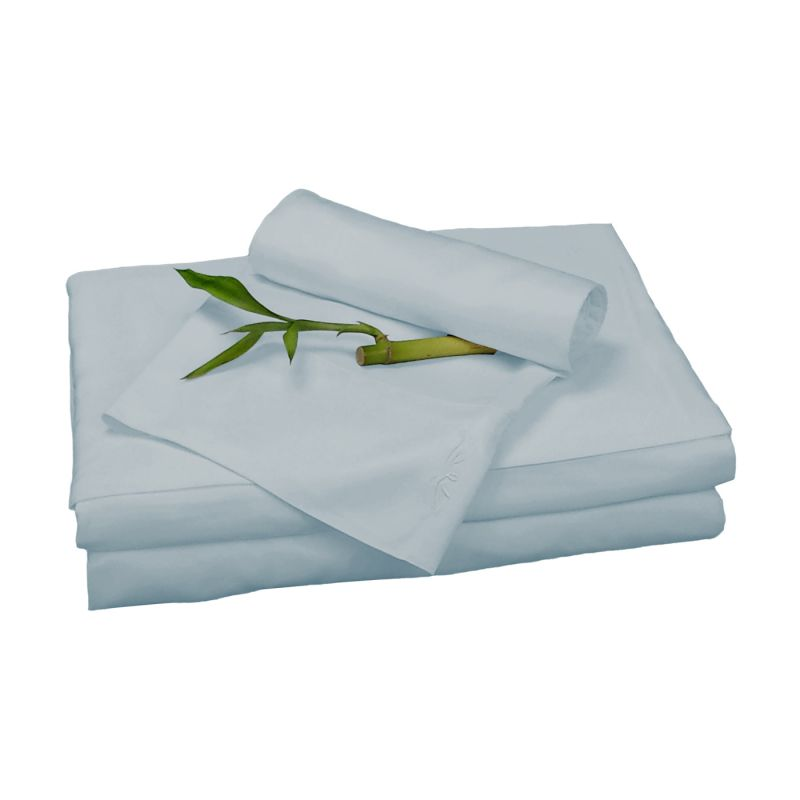 BedVoyage Rayon from Bamboo Full Sheet Set in Sky