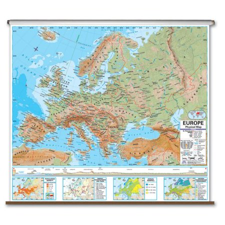 Universal Map Advanced Physical Deskpad   Europe