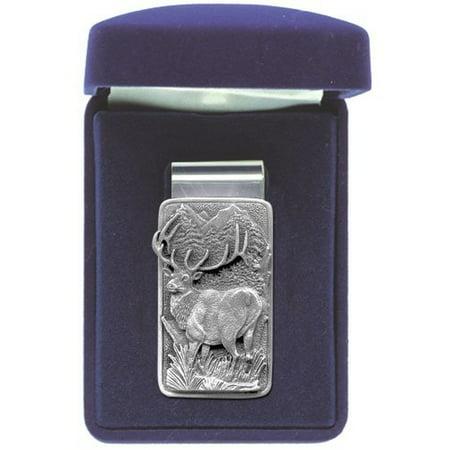 Elk Money Clip, By Heritage Pewter