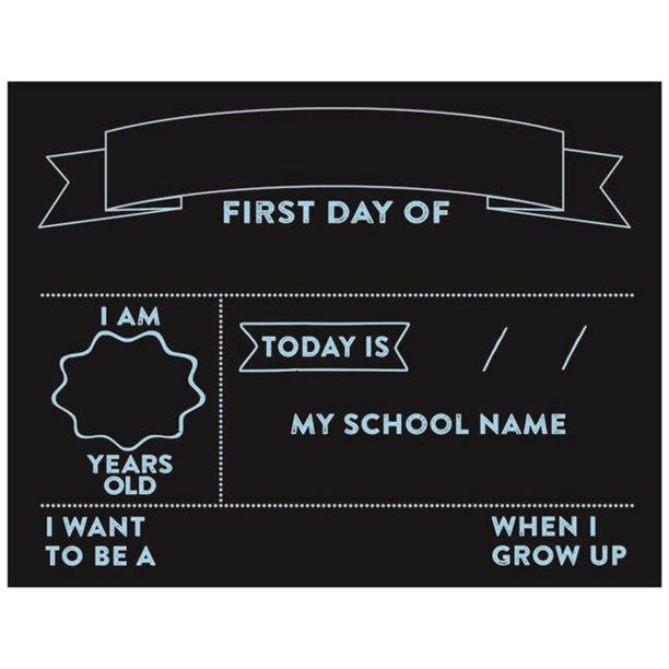 Reversible Chalkboard Signs Just $7.46! | Back to School