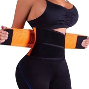 Body Trainer for Women Fitness Waist Cincher Corset Body Shaper Girdle Tummy Trainer Belly Training Belt, Kiwi-Rata