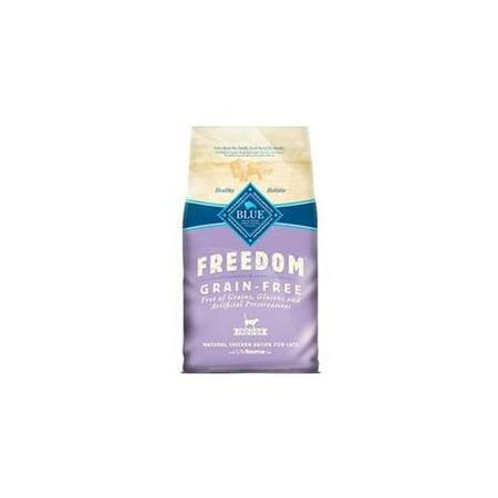 grain free cat food walmart blue buffalo freedom grain free dry adult cat food walmartcom