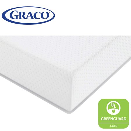 Graco Premium Foam Crib and Toddler Mattress in a Box (Graco Crib Screws)