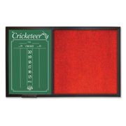 Dart World Backboard Scoreboard Combo - Red