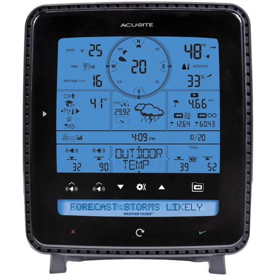 Pro 5 In 1 Weatherstation W/aculink Remo