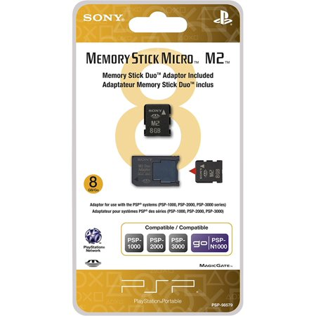 Sony PSP 8GB Memory Stick Micro with Adapter ()