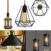 Retro Ceiling Light Loft Hanging Chandelier Industrial Pendant lamp Ceiling Lamp Holder Home Dining Bar